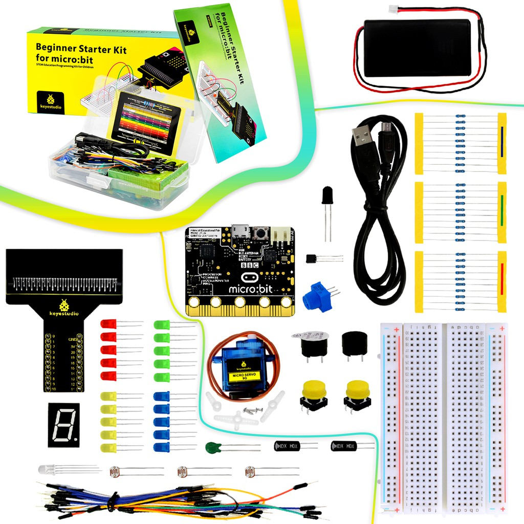 Keyestudio Beginner Starter Learning Kit Development Board for BBC Micro:bit