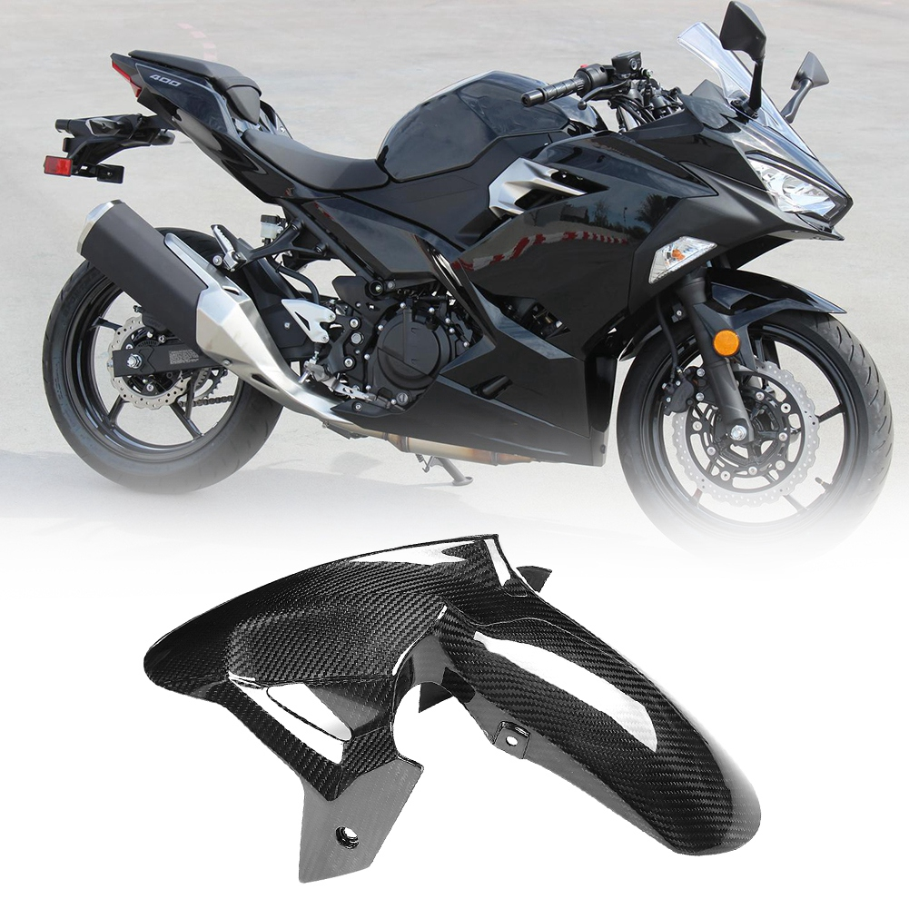 Aramox Fork Crash Sliders Motorcycle Front Rear Fork Crash Sliders Wheel Protector for Kawasaki NINJA 250 300 2013-2017