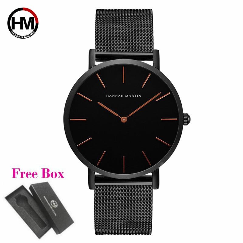 Hannah Martin CH02-W Men Stainless Steel Quartz Watch