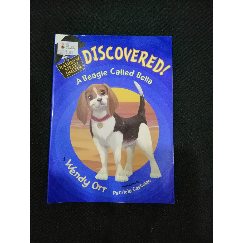 English Story Book - Discovered! A Beagle Called Bella