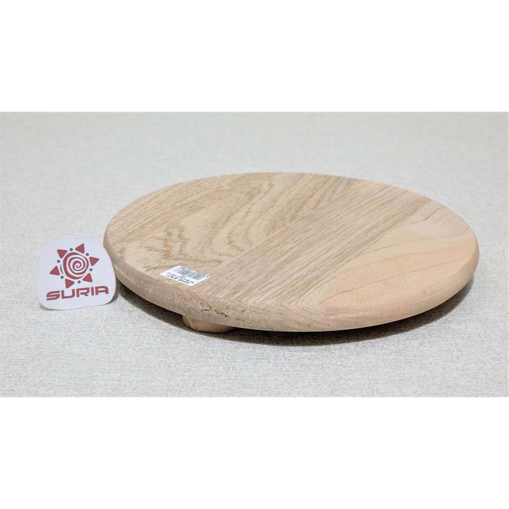 Round Wooden Chopping Board With Leg Shopee Malaysia