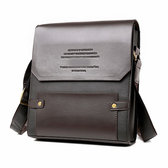 Fashion Moonar Men Vintage Briefcase Messenger Bag Crossbody Casual Bag  682bcb3c0ed37