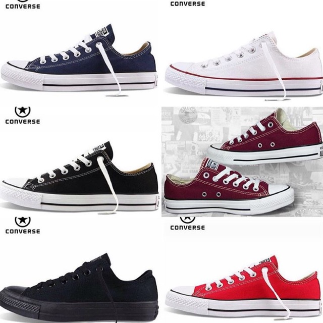 f8d11f90acd 🛒 READY STOCK 🛒 8338-A Converse Low Top (Blue