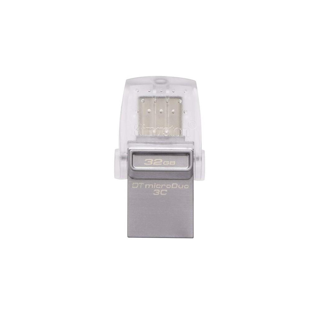 Kingston 32GB MicroDuo 3C USB 3.1 Pen Drive USB Type C 100MB/s DTDUO3C 32GB