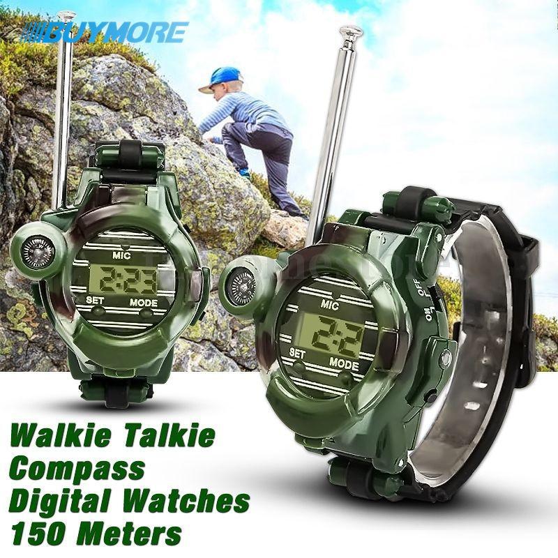 Camouflage Military Parenting Toy Wrist Watch Walkie Talkie Intercom Toys | Shopee Malaysia