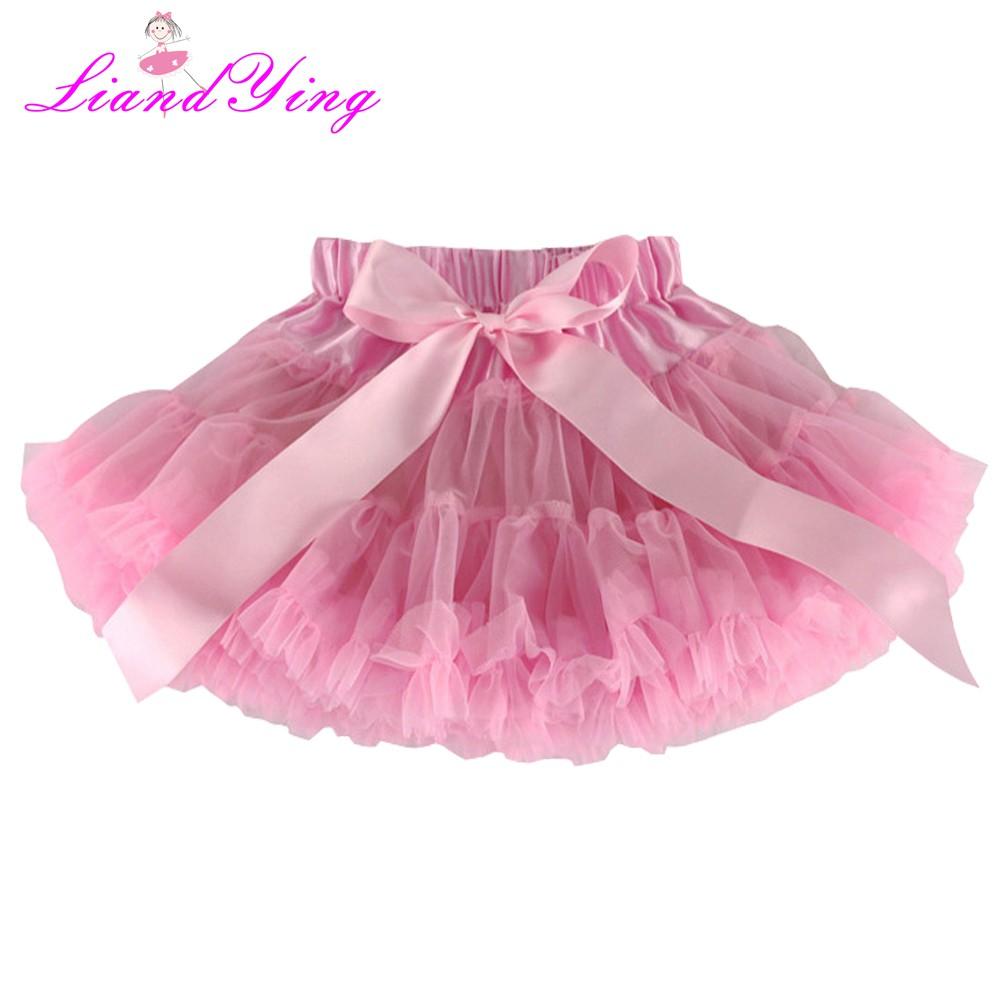 Tutu skirts for Baby girls from 1-6T tulle fluffy summer Ballet dance wear Dress