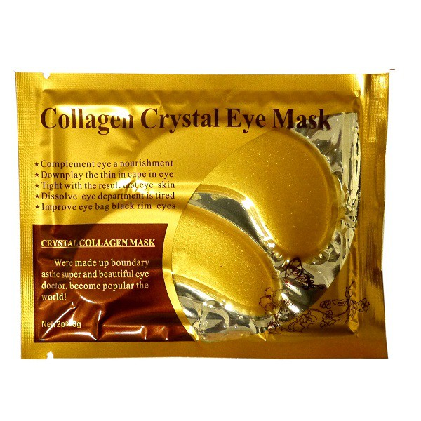 50pcs Gold Crystal Collagen Eye Mask Eye Patches For The Eye Anti-Wrinkle   Shopee Malaysia