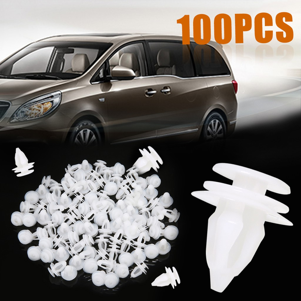 MINI CAR BODY DOOR /& BUMPER PANEL FASTEN RIVET//RETAINER 9-10MM TRIM CLIP