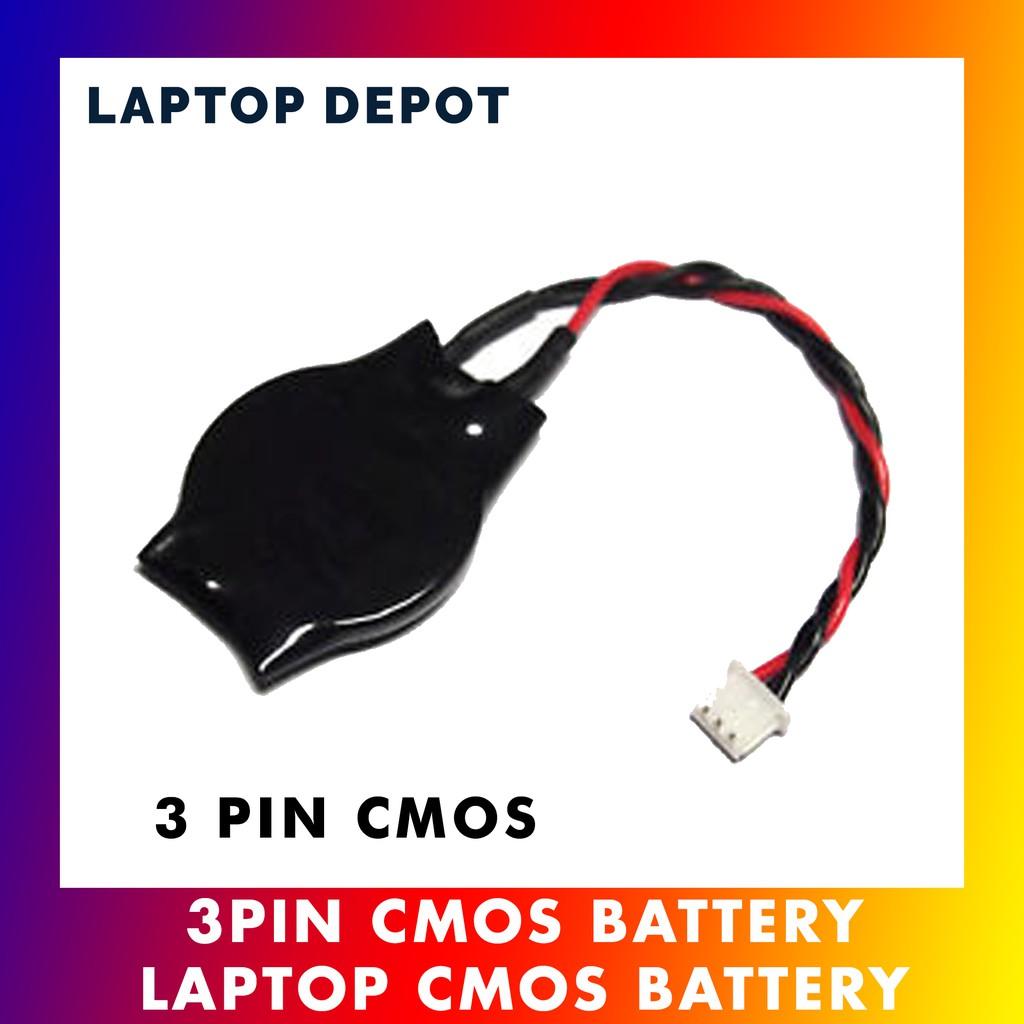 Acer Asus Dell Fujitsu HP Lenovo Sony Toshiba Laptop 3 Pin Cmos Battery