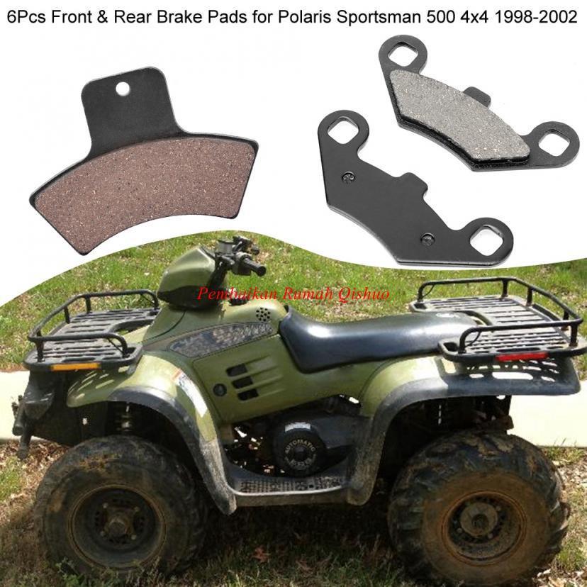 Polaris Sportsman 500 ATV Rear Brake Pads 1998-2002