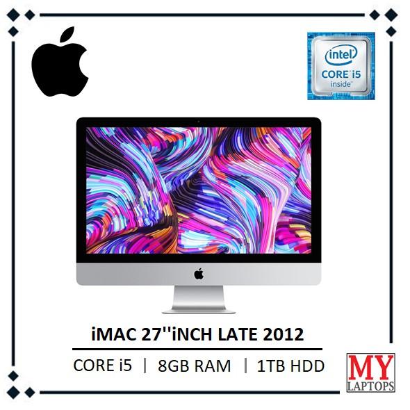 "8GB RAM MEMORY FOR APPLE IMAC 27/"" 2012 I5 I7 3.2GHZ QUAD I5 1600 DDR3 NEW!!!"