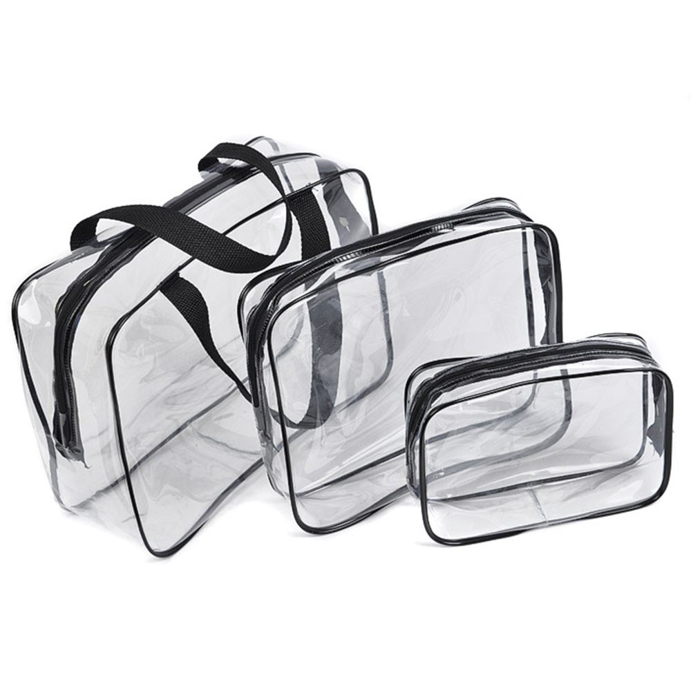 Make Up Pouch Wash Bags PVC Bags Travel Organizer Clear Makeup Bag