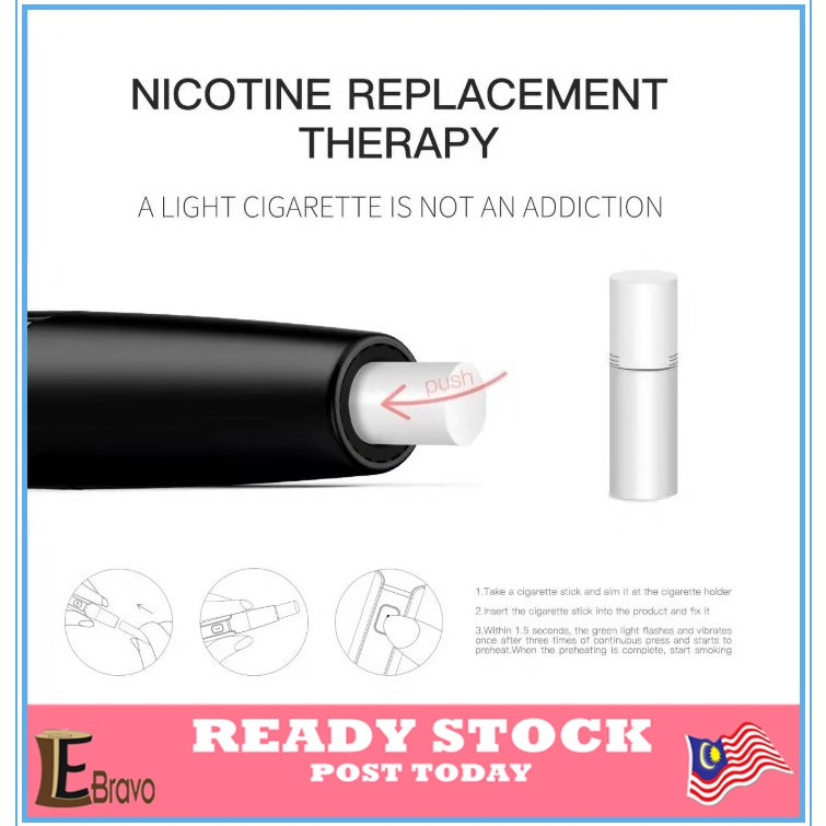 HNB New Electronic Cigarettes Vapor[Not]IQOS[Not]Hitaste Authentic Local set