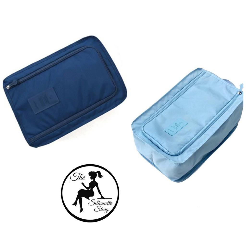 Sports Shoes Bag Waterproof Foldable Shoe Box Travel Portable Storage Shoe Pouch