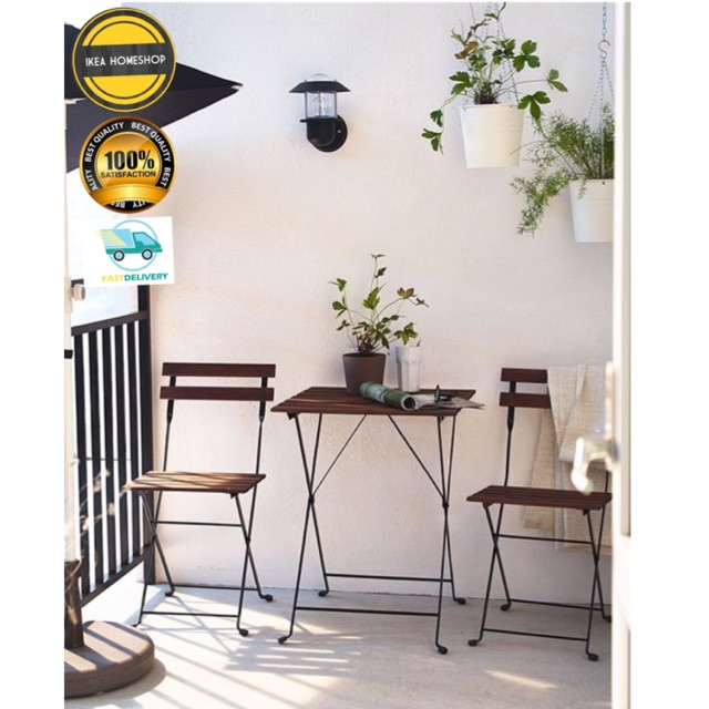 Ikea Tarno Outdoor Settable2 Chair Foldable