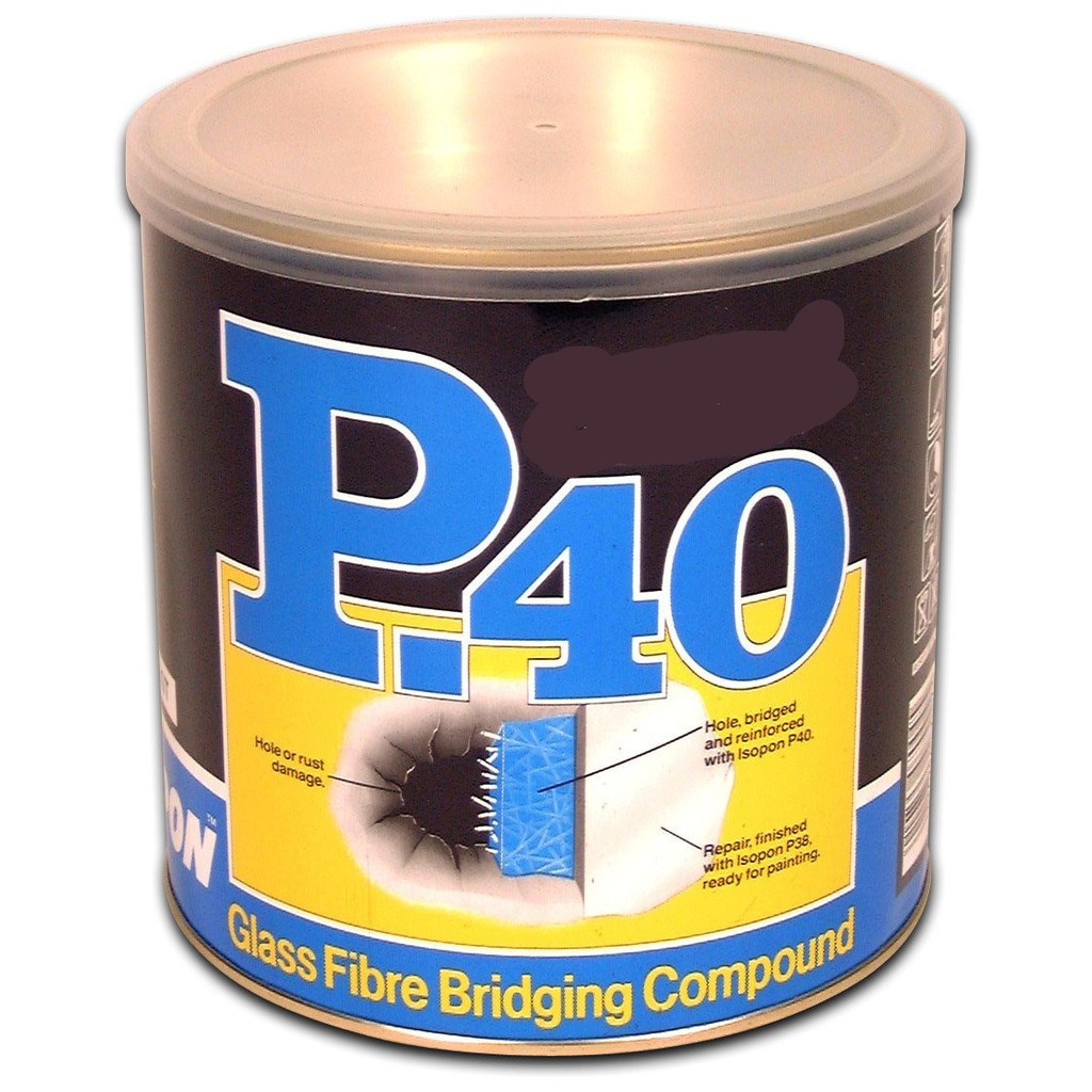ISOPON P40 Fibre Glass Compound Bridge Holes Paste (P40OS