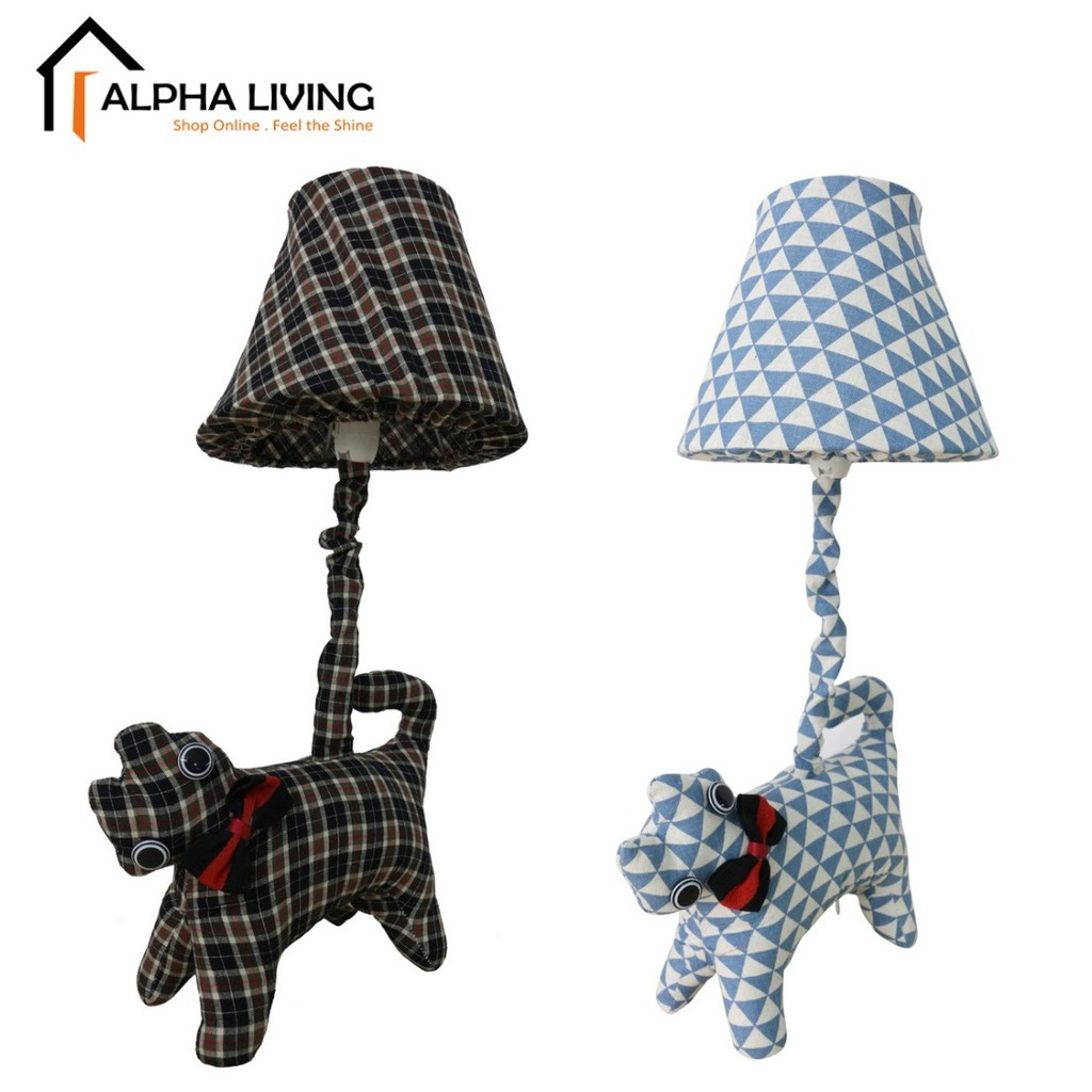 Cottage Lovely Creative Cartoon Fabric Cat Led Table Lamp (LGT0016)