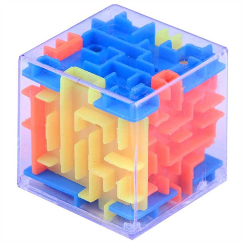 Funny Maze Magic Cube Cube Puzzle Game Ball Toy (Multi)