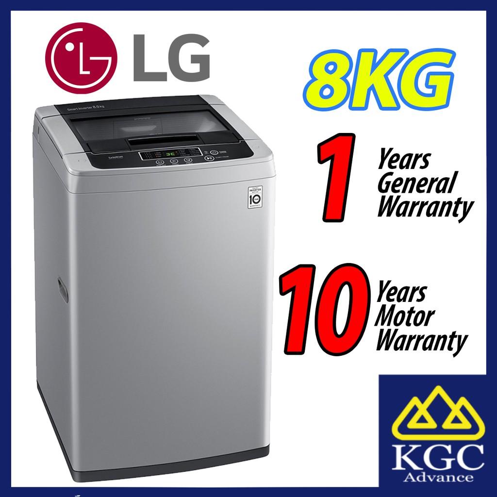 LG 8.0KG T2108VS3M Inverter Top Load Fully Washer