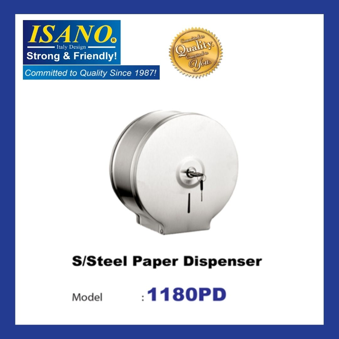ISANO 1180PD Stainless Steel Paper Dispenser