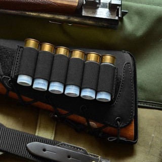 XHFS Tactical 6 Shotgun Shell Cartridge Rifle Buttstock