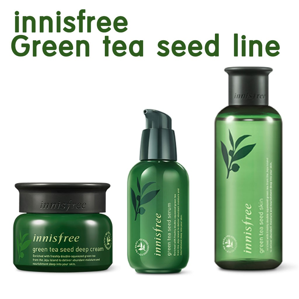 Innisfree Green Tea Seed Cream 50ml 2018 New Shopee Malaysia The Serum 80ml