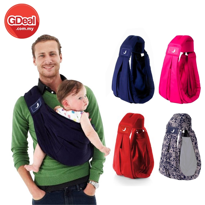 GDeal Newly The Baba Sling 5 in 1 Baby Carrier Classic Original Design Everyday Style From Newborns
