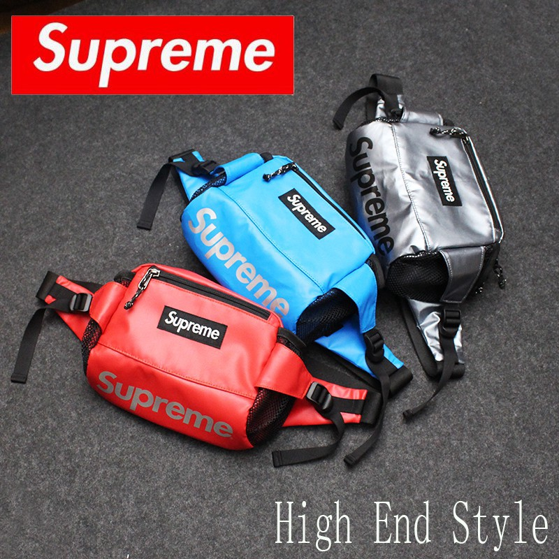 (Ready Stock)Supreme UNISEX Men & Women Sling Bag Waist bag Pouch Chest Bag