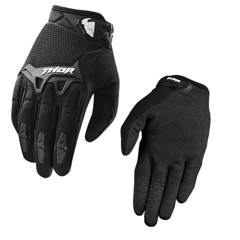 Vehicle Parts & Accessories Motorcycle Gloves Summer Glove Full Finger Motorbike Screen Touch Cycling'Rac JD