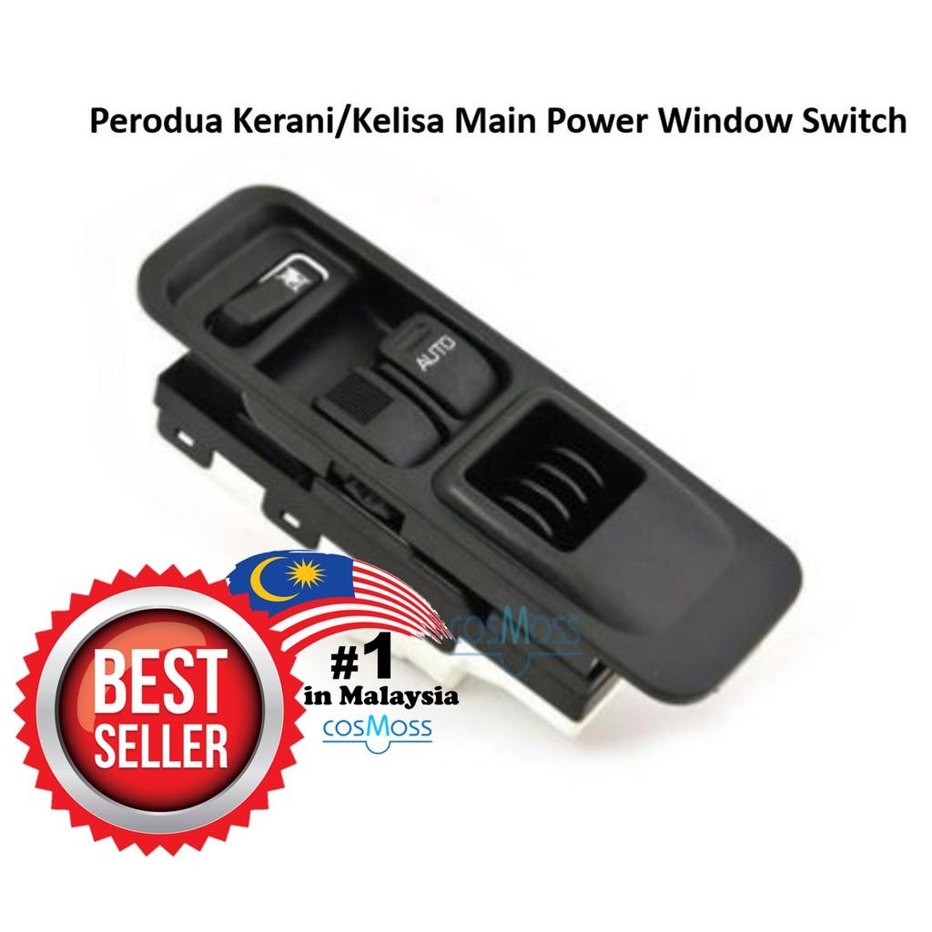 oem power window switch for perodua kembara (main switch) | shopee malaysia