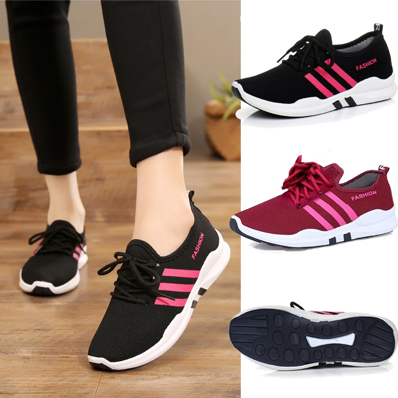 4aeb63d5a READY STOCK 1 DAY SHIP MESH SPORT SHOES Women Sport Running Casual Shoes