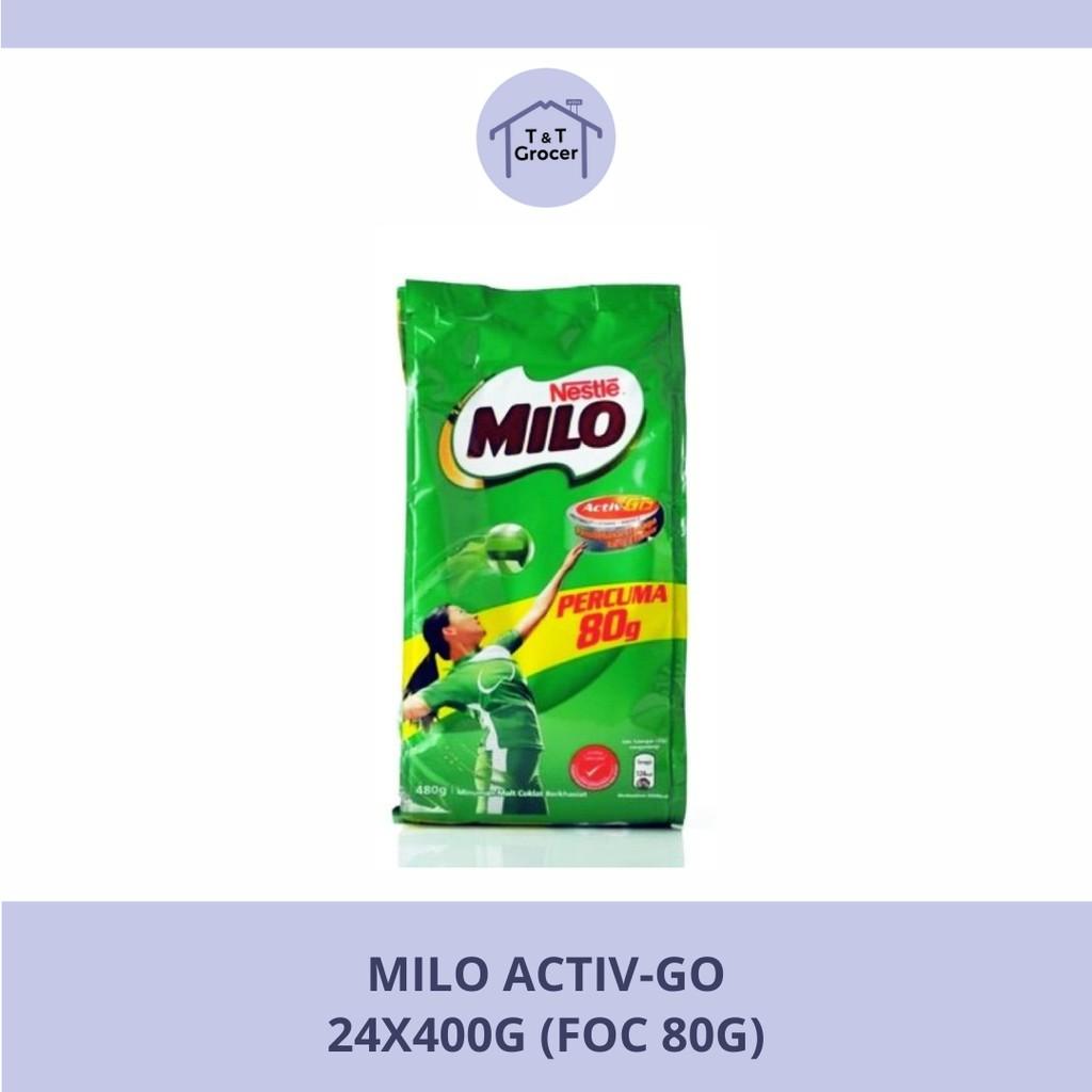 Milo Activ-Go (400g + FOC 80g)