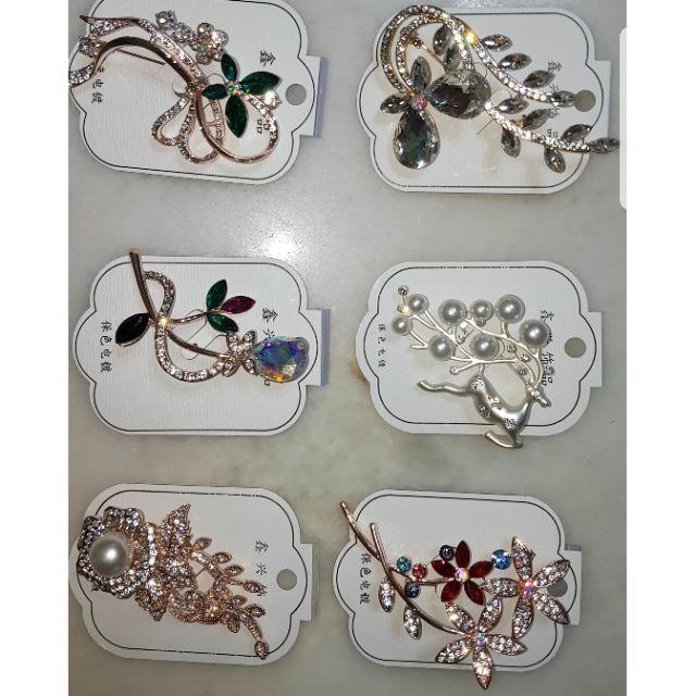 High Quality & Beautiful Brooches  [ Pilih 2 ] Kerongsang Cantik & Berkualiti