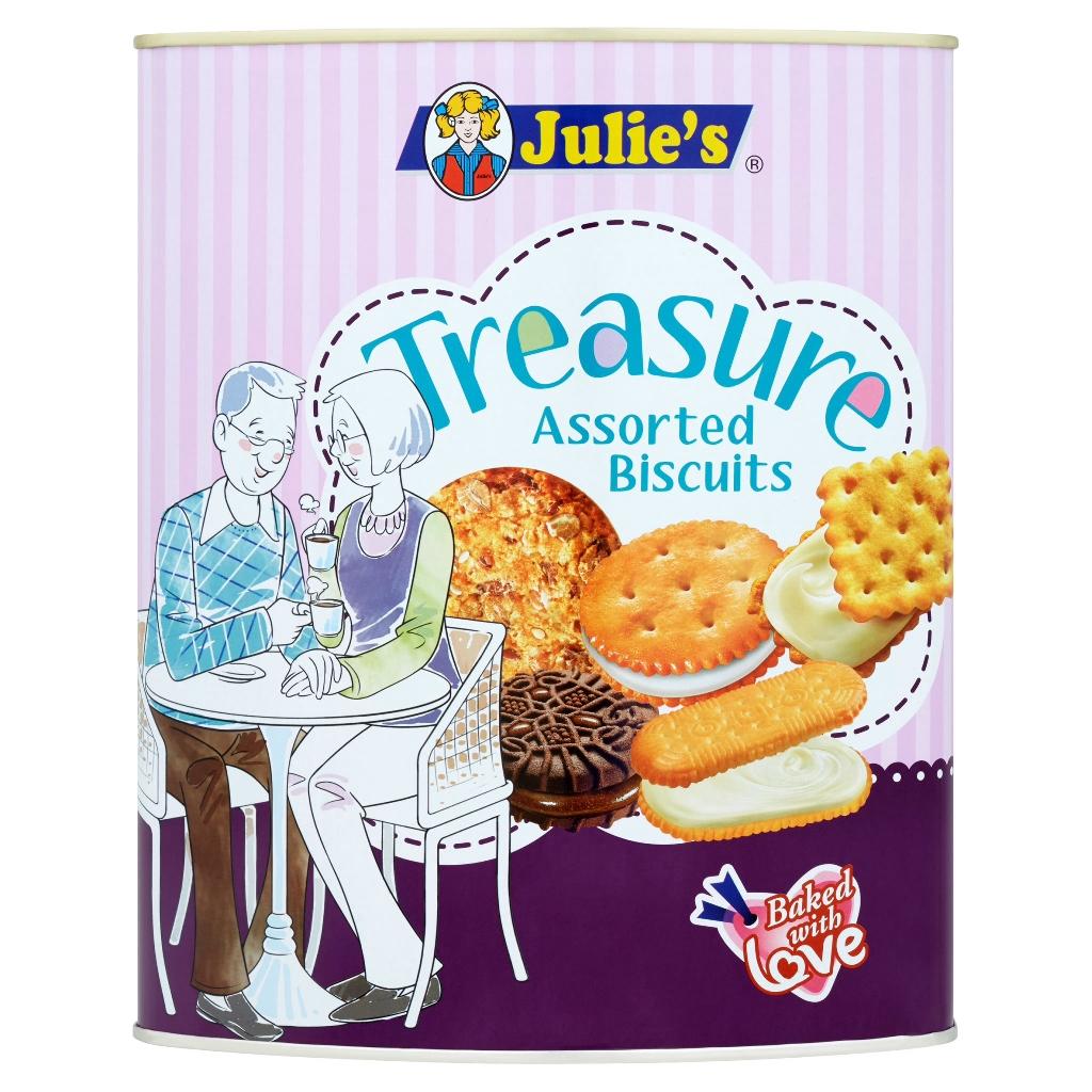 Julies Treasure Biscuit Assorted (530g)