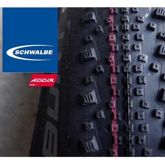 Schwalbe Thunder Burt Tire 27.5 x 2.1 Clincher Folding BLK Evolution Line Snak