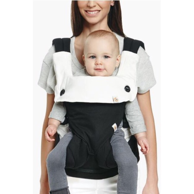 d56fdba5cb7 AUTHENTIC  Ergo Baby Carrier - Four Position 360 - Festive Skies ...