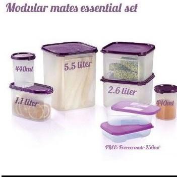 Tupperware Modular  Mates Essential Set (8pcs)