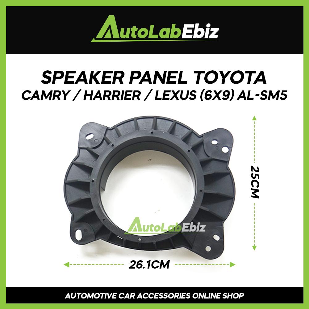 Car Door Speaker Panel Cover Trim Car (2pcs) For Toyota Camry / Harrier / Lexus (6 x 9)