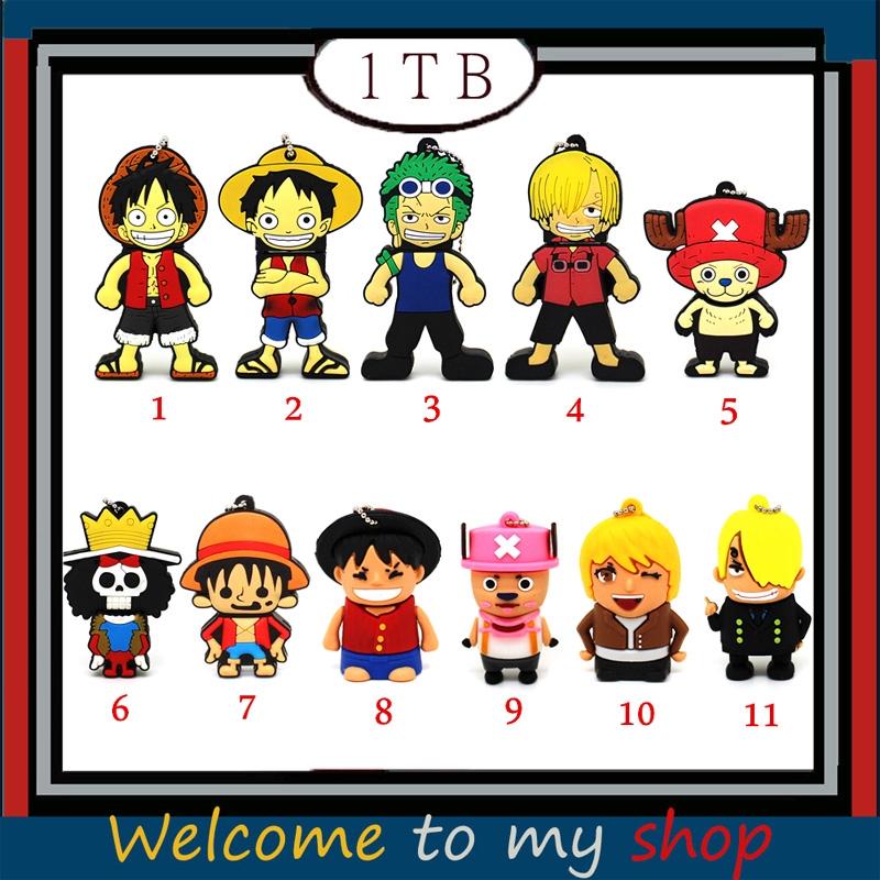 Cartoon Pen Drive One Piece Anime Usb Flash Drive 1tb Luffy Sanji Zoro U Disk Pendrive Chopper Memory Stick Shopee Malaysia