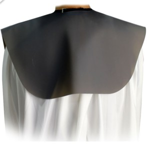 Silicone Salon Barber Haircut Neck Cape S / L (YS-SHOULDER)