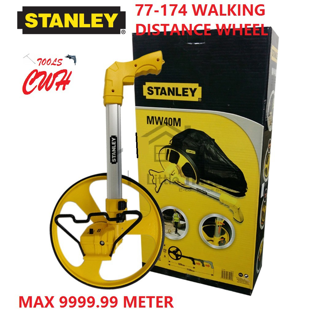 77-174 STANLEY 318MM MW40M WHEEL WALKING DISTANCE MEASURER MEASUREMENT MEASURING 77174