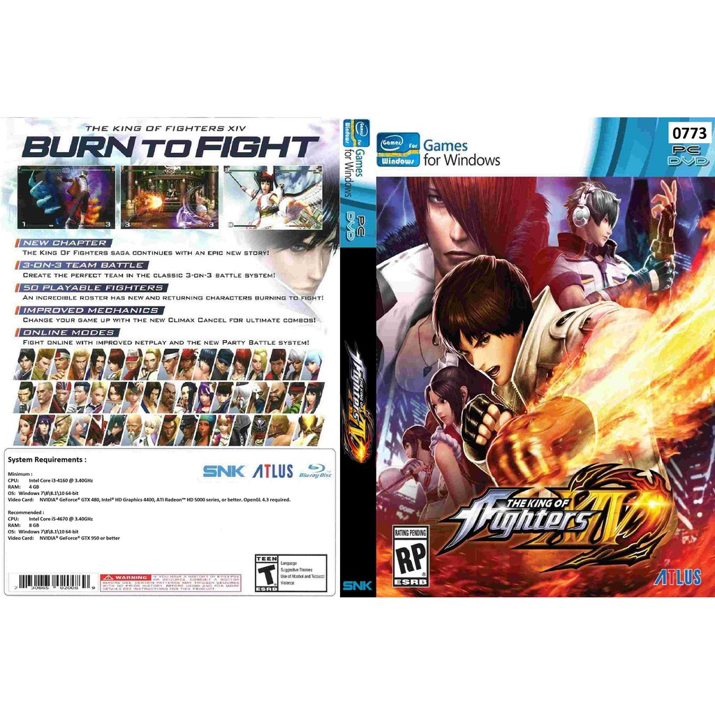 Pc The King Of Fighters Xiv Steam Edition Shopee Malaysia