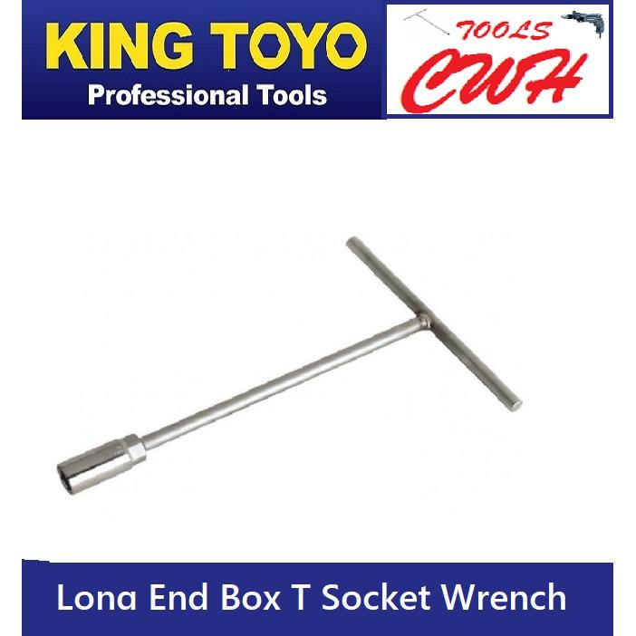 King Toyo Long End Box T Socket Wrench STANLEY BONDHUS SATAGOOD SATA TOPTUL M10