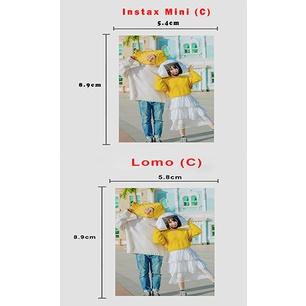 Instax mini & Lomo printing/Fujifilm Polaroid/Lomo Card/Instax Mini(min 20pcs per order)Suitable For Gift