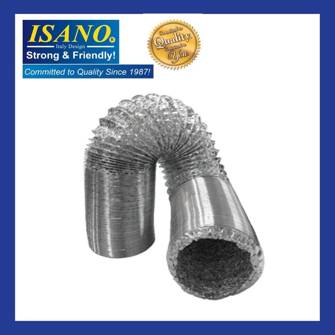 ISANO ALUMINIUM VENTILATION HOSE SH43 / SH45 / SH410 / SH63 / SH65 / SH610