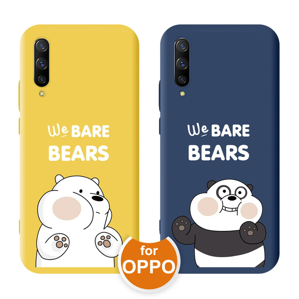 We Bare Bears Cartoon Cute TPU Phone Case for OPPO A3S A5S AX7 A7 2018 Feccoe Radio Double Din Wiring Diagram on