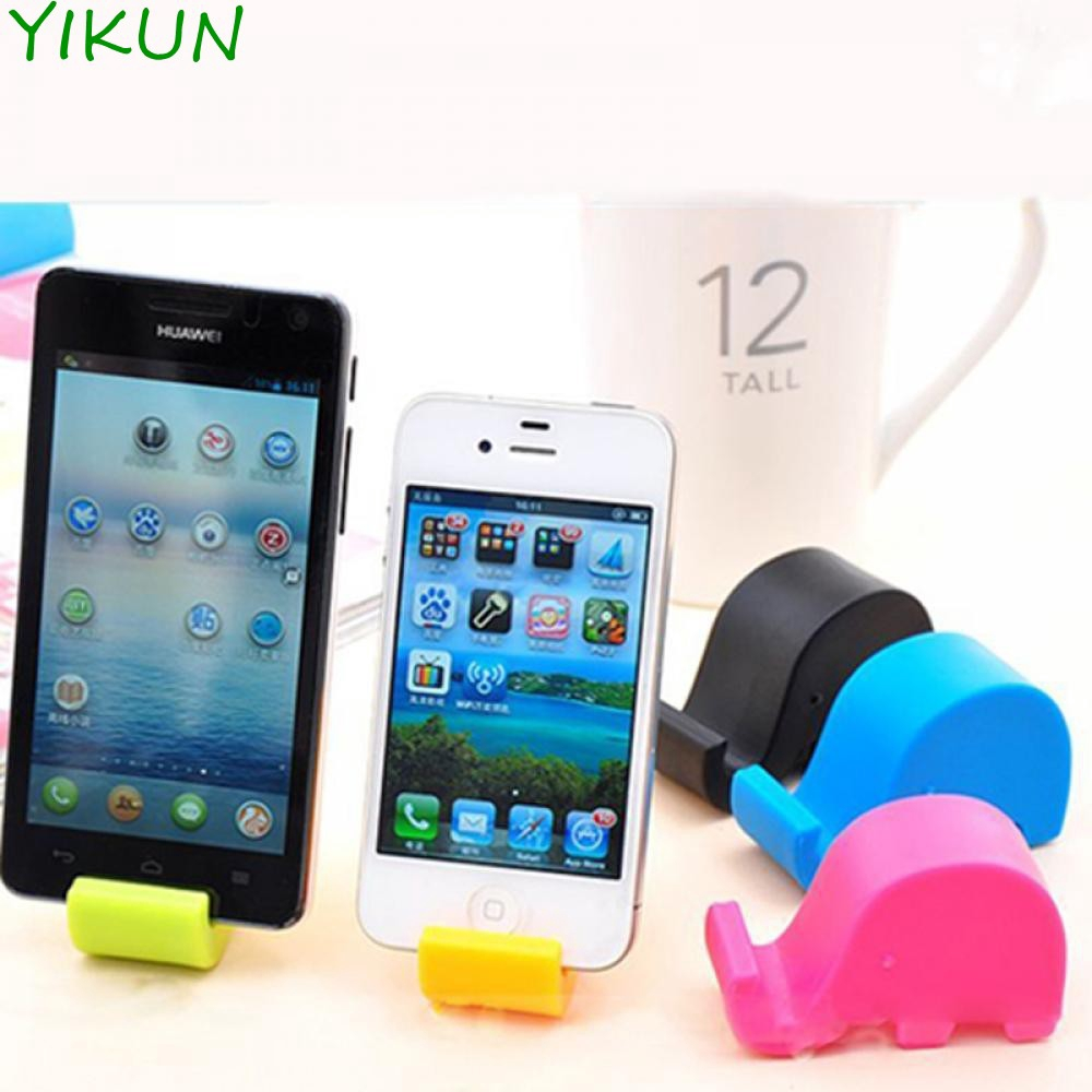 Small Stand Mobile Phone Fixed Elephant Mount Cell Tablet