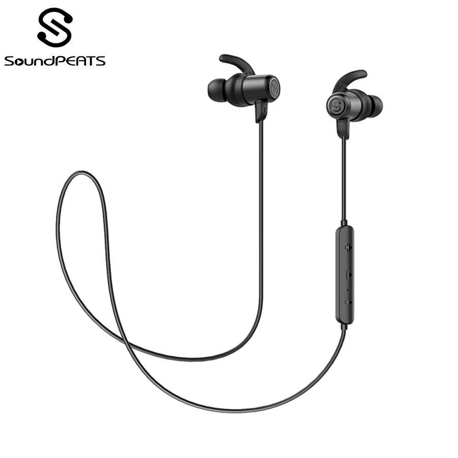 SoundPEATS Bluetooth Wireless Earphone Hifi Stereo Sooud Waterproof IPX5  Sport Earphone with Microphone In-Ear Headset