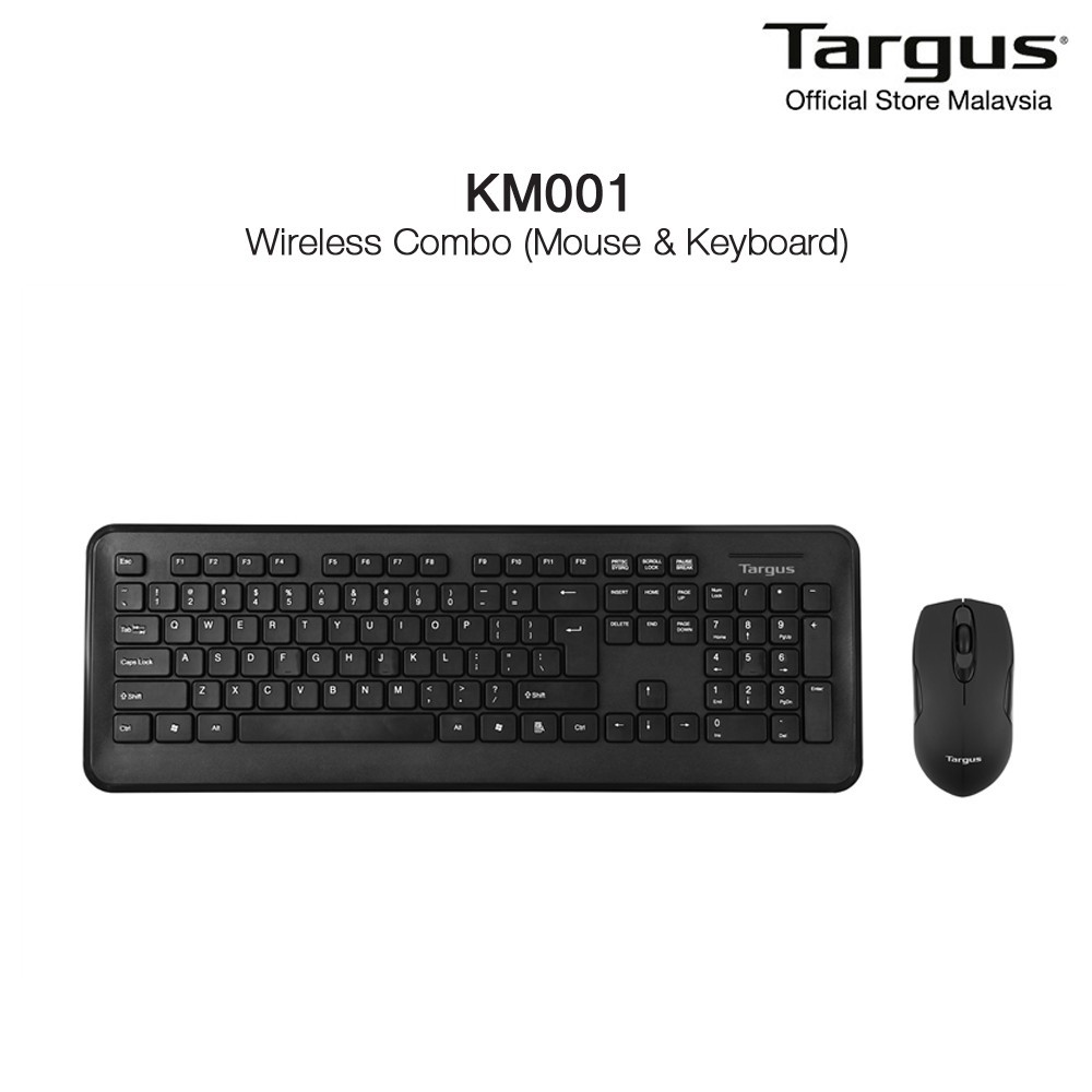 cf5d8290a26 Targus KM001 Wireless Combo Set - AKM001AP-50 | Shopee Malaysia
