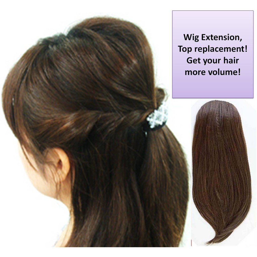 Wig Extensions/ top replacement/ ready stock
